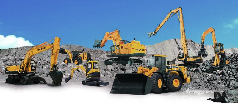 Hyundai Construction and Forestry Equipment Sales