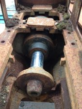 Madill 1800 track tensioners